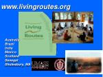 www livingroutes org