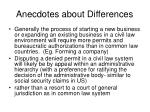 anecdotes about differences50