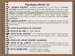 tipologia ofertei 2