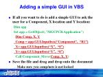 adding a simple gui in vbs