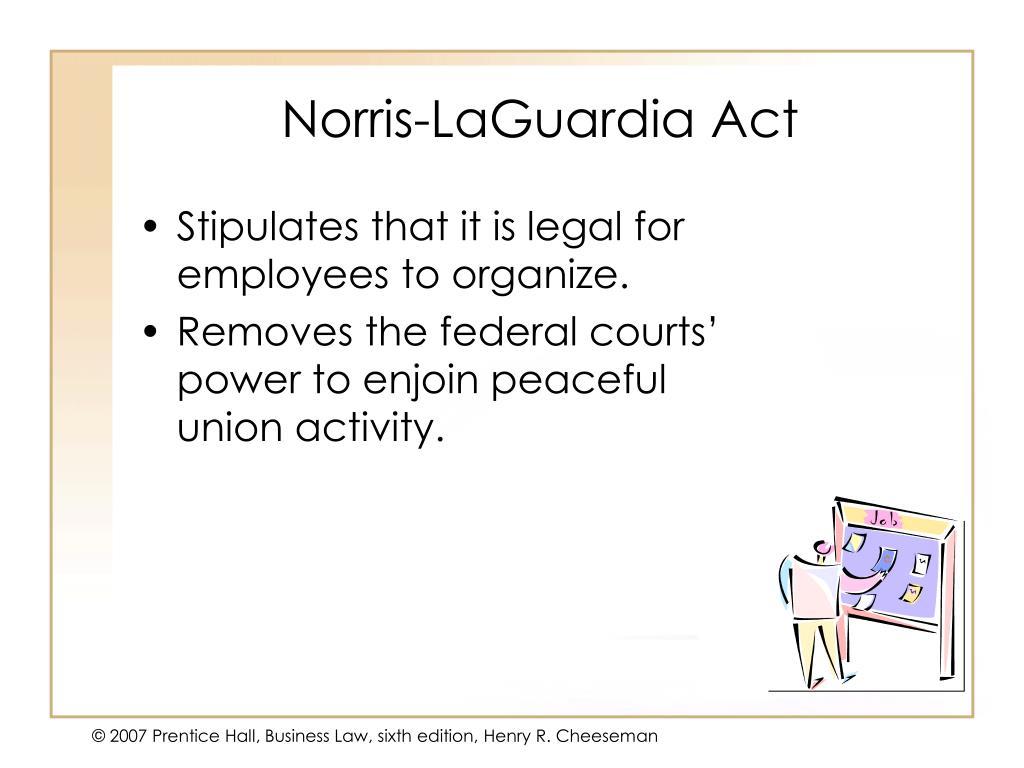 Norris-LaGuardia Act