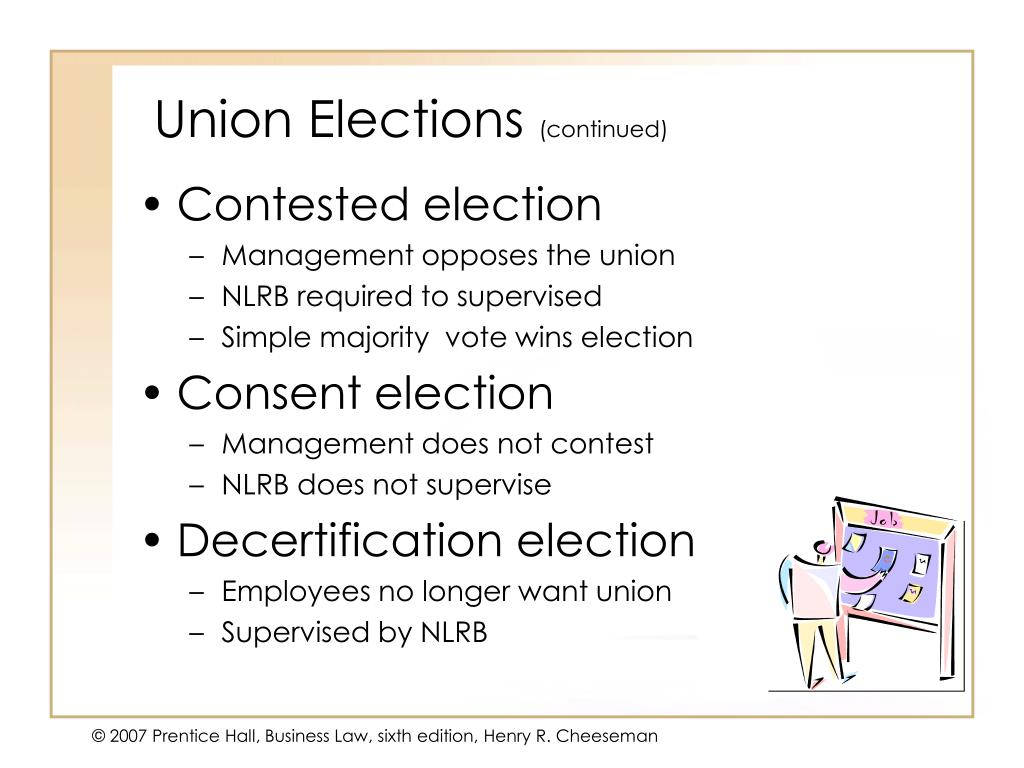 Union Elections