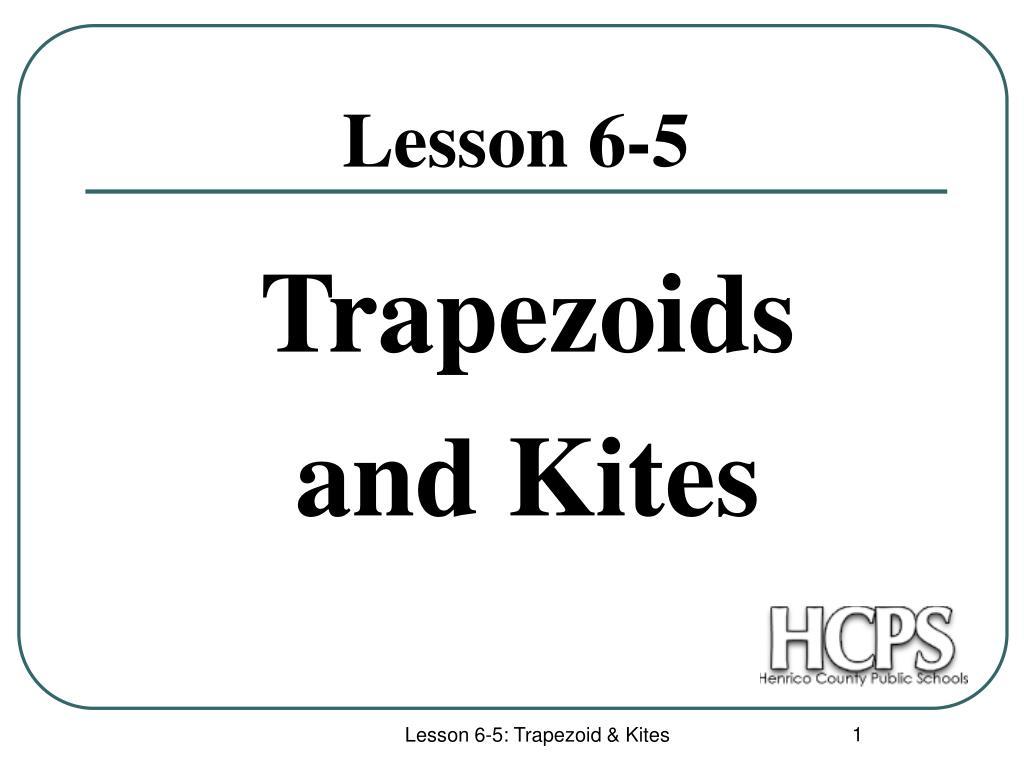 trapezoids and kites l.