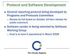 protocol and software development
