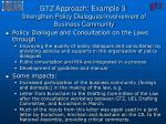 gtz approach example 3