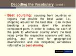 decoding the vocabulary cont d14
