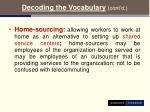 decoding the vocabulary cont d9