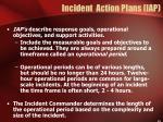 incident action plans iap