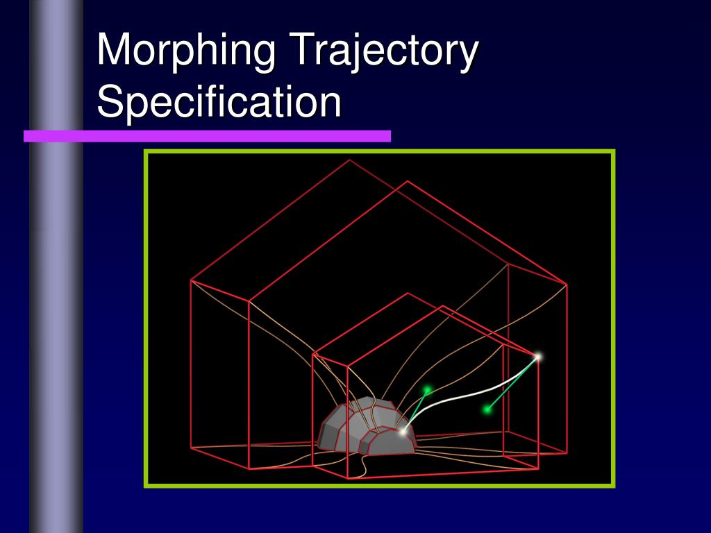 Morphing Trajectory Specification