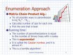 enumeration approach