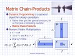 matrix chain products