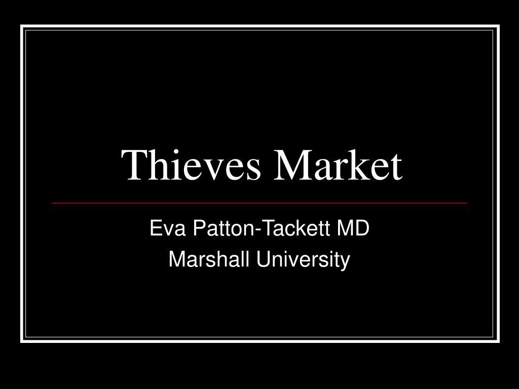 thieves market l.