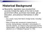historical background7