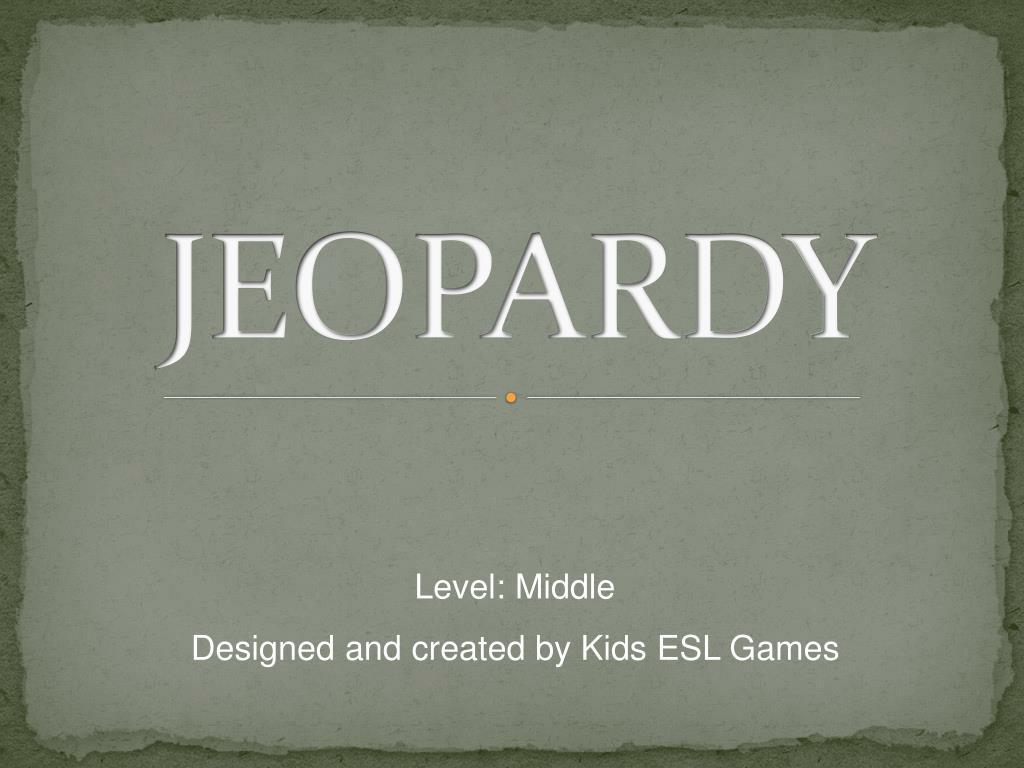 jeopardy l.