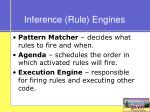 inference rule engines