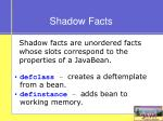 shadow facts
