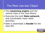 the rete ree tee object