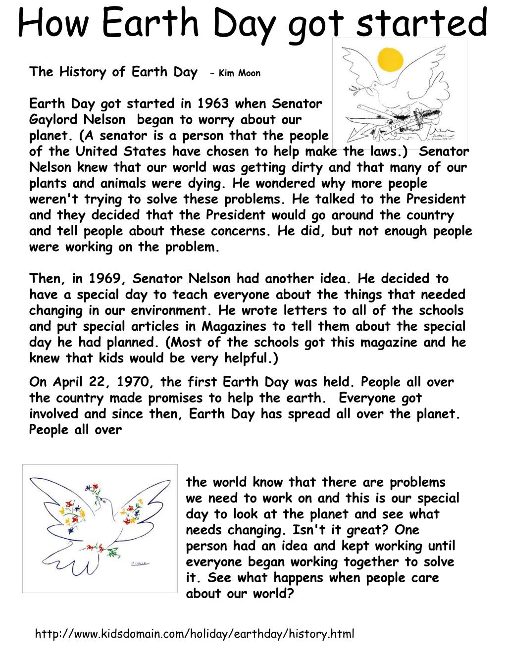 How Earth Day got started
