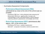 2014 15 parcc assessment plan36