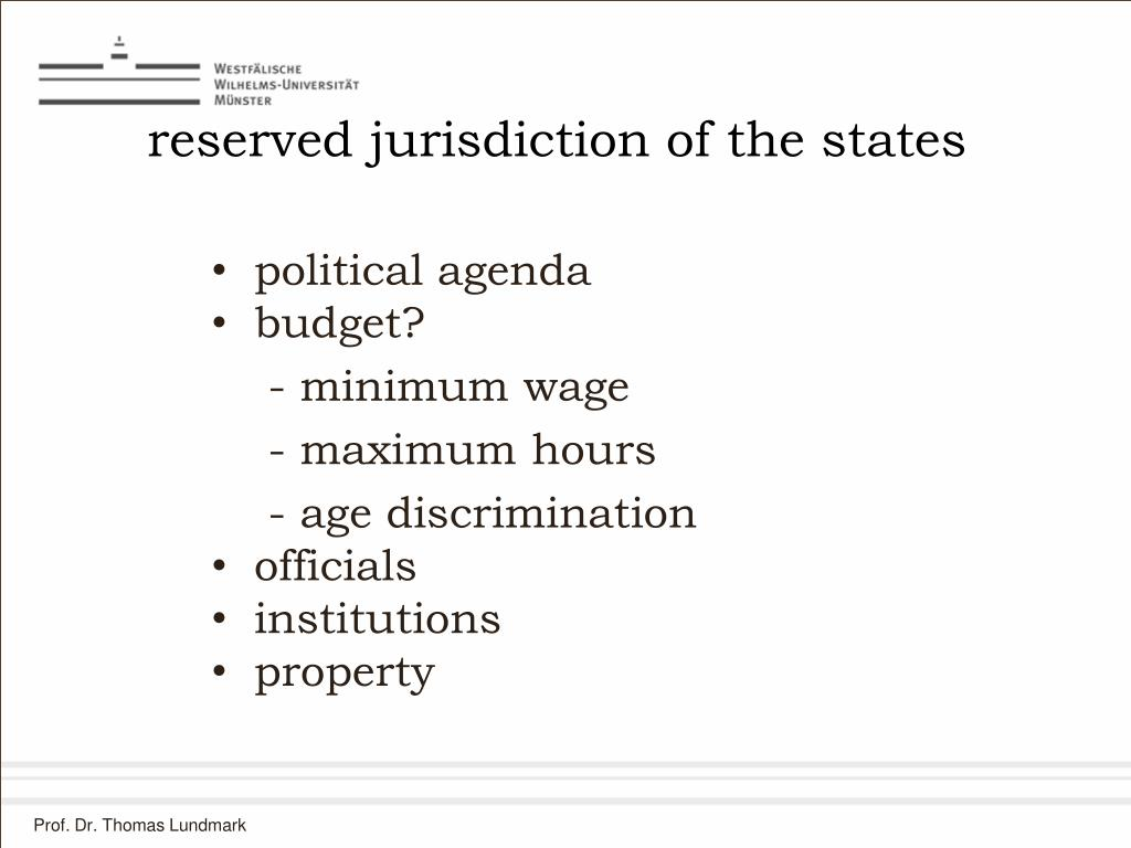 reserved jurisdiction of the states