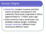 human origins50