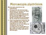 microscopia electr nica