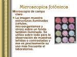 microscopios fot nicos