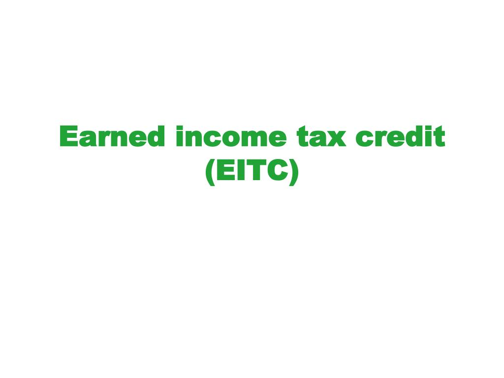 earned income tax credit eitc l.