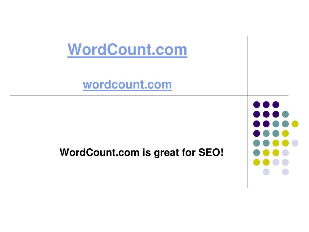 wordcount com wordcount com l.