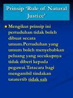 prinsip rule of natural justice