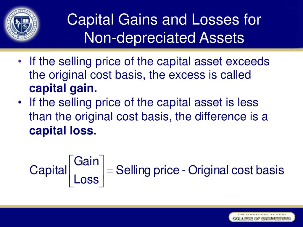 Capital Gains and Losses for