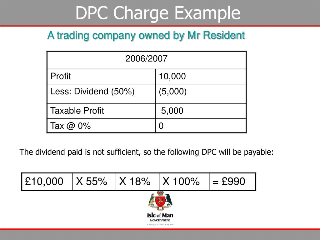 DPC Charge Example