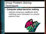 group problem solving techniques40