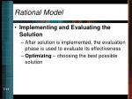 rational model11