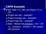 capm example36