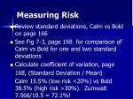 measuring risk15