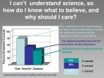 i can t understand science so how do i know what to believe and why should i care10