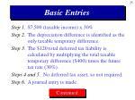 basic entries25