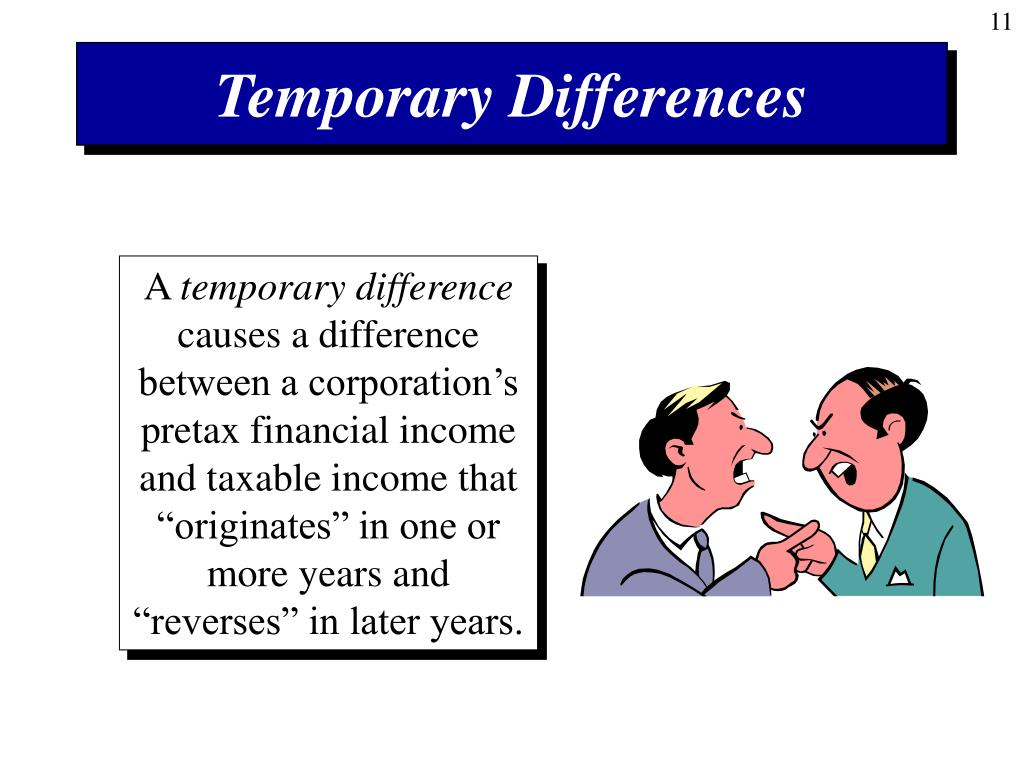 Temporary Differences