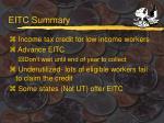 eitc summary