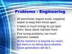 problems engineering
