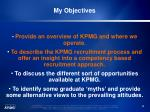 my objectives14