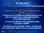 my objectives9