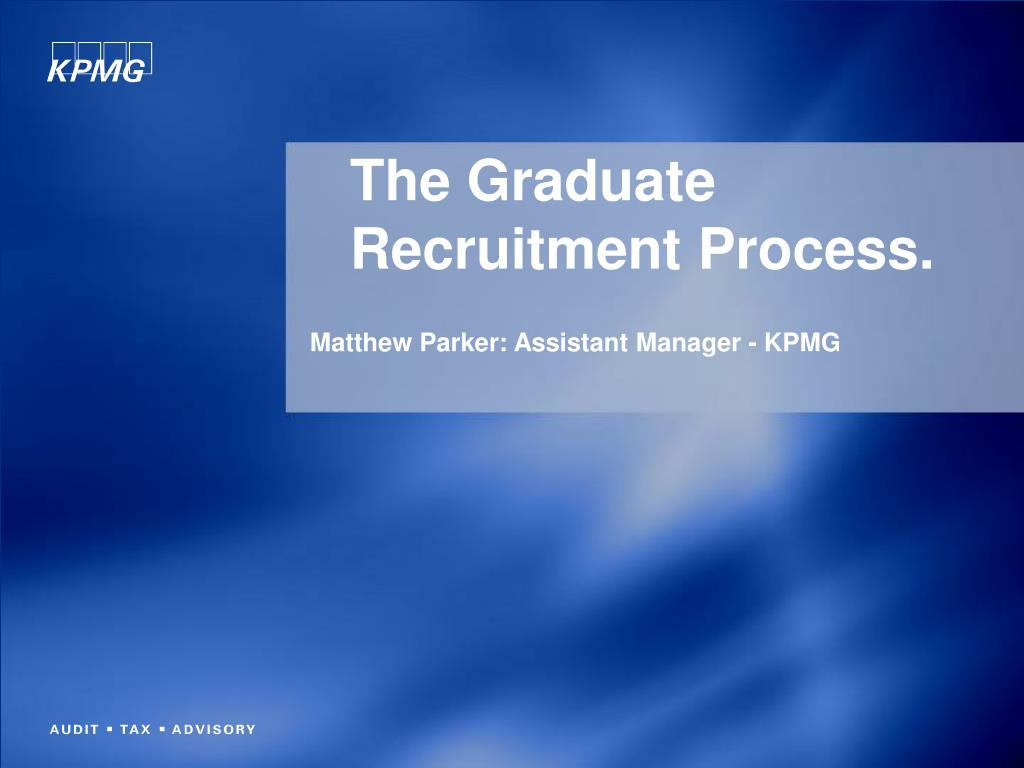 the graduate recruitment process l.