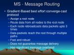 ms message routing