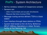 pinptr system architecture