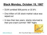black monday october 19 1987