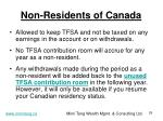 non residents of canada