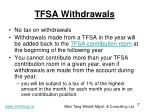 tfsa withdrawals