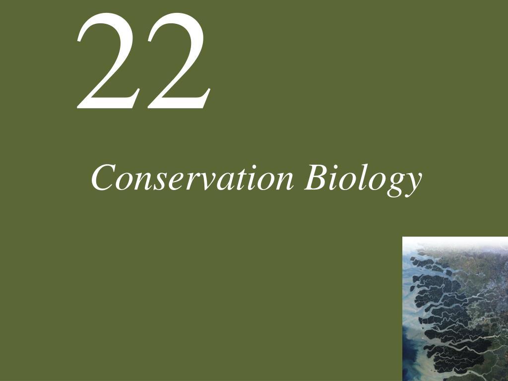 conservation biology l.